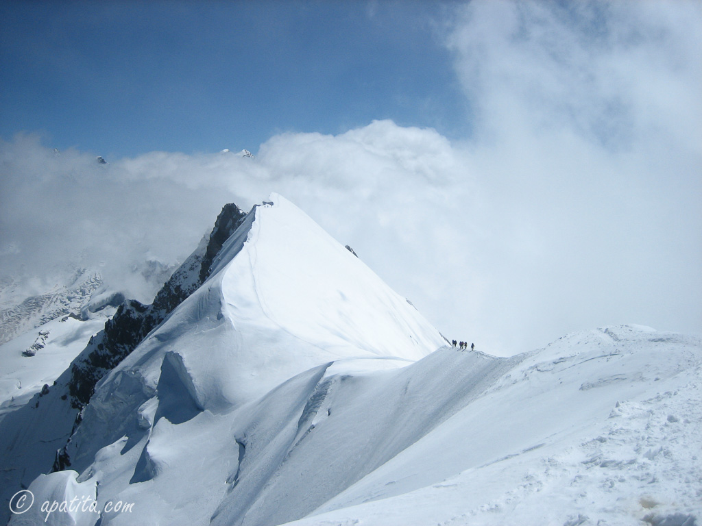 Vista del Breithorn central